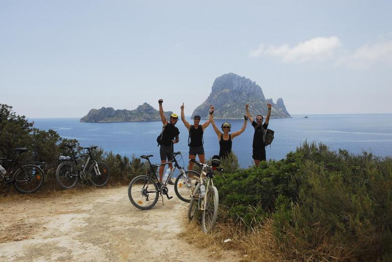 Fahrradfahren auf Ibiza Bernardo-Ibiza