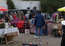 Flohmarkt Cala Leña