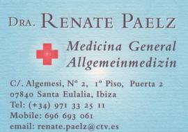 Dr. Renate Paelz